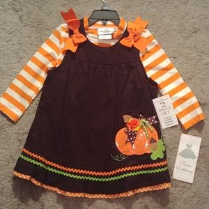 NWT Fall Dress for Toddler - 3T